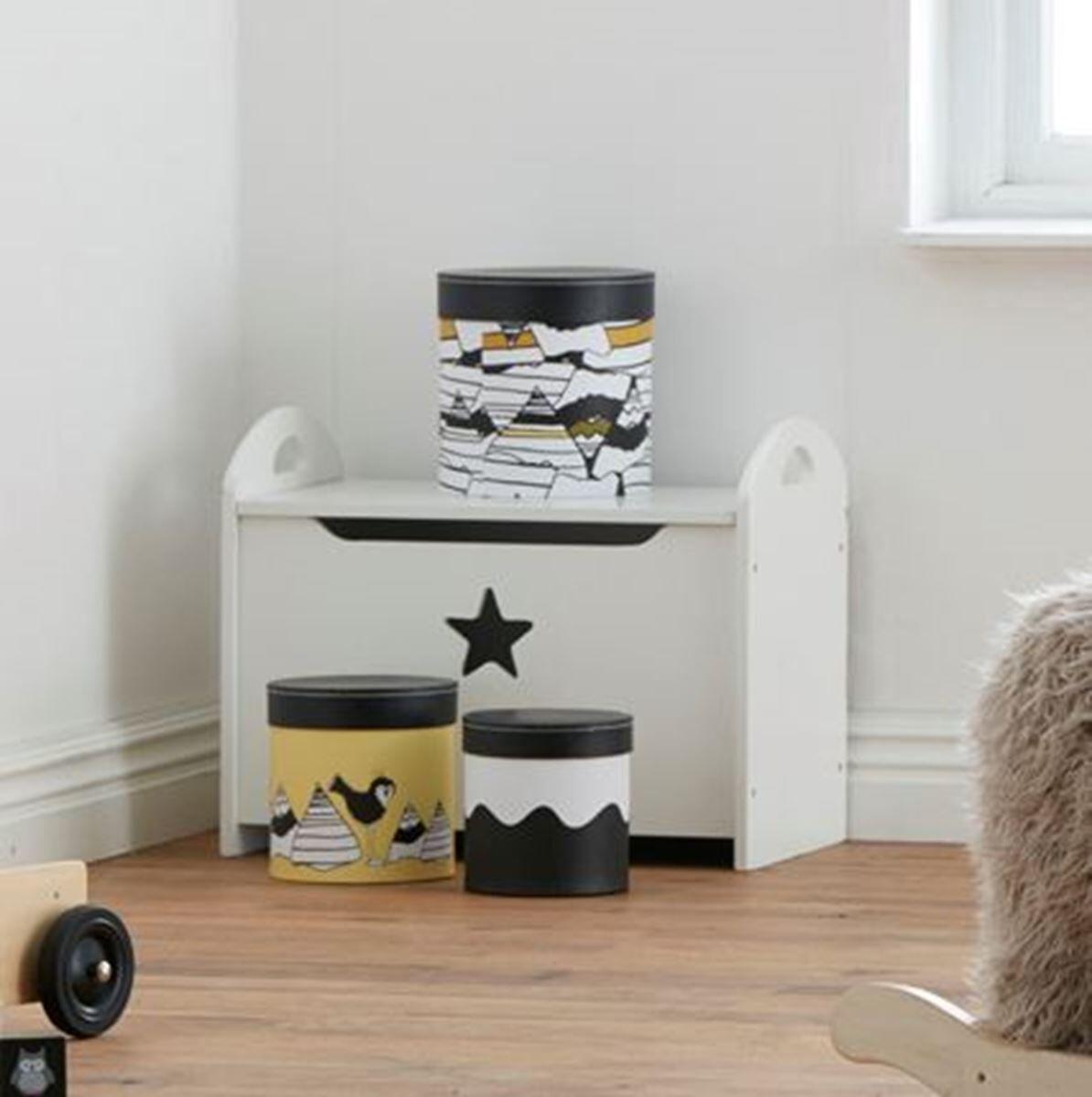 Kids Concept Kiste, Star, Hvit
