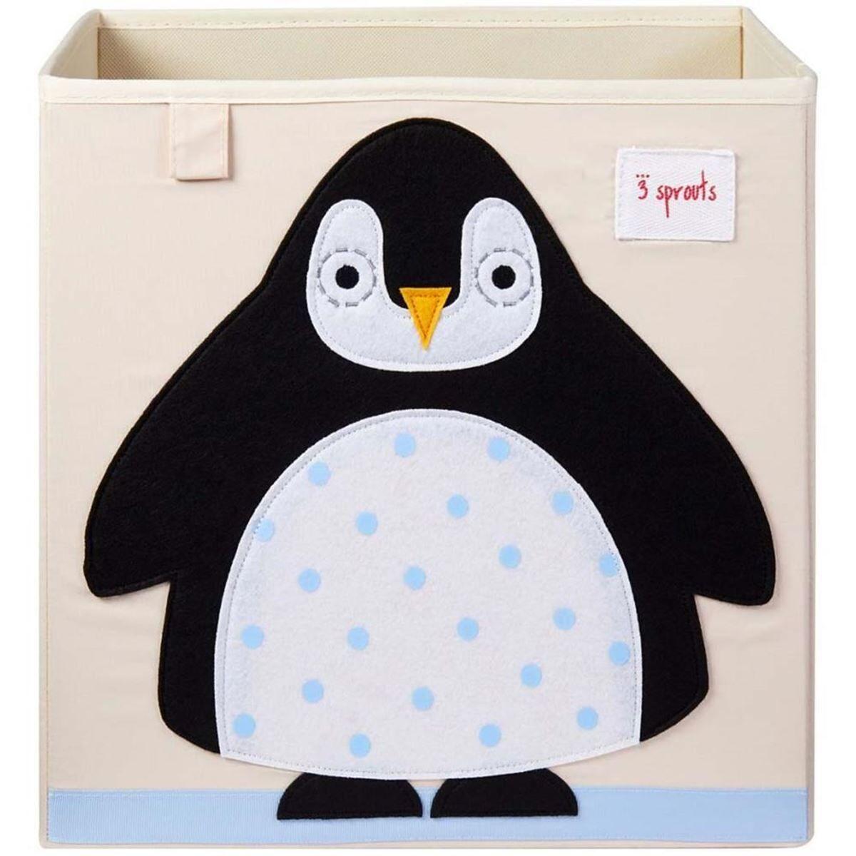 3 Sprouts Oppbevaringskasse, Pingvin