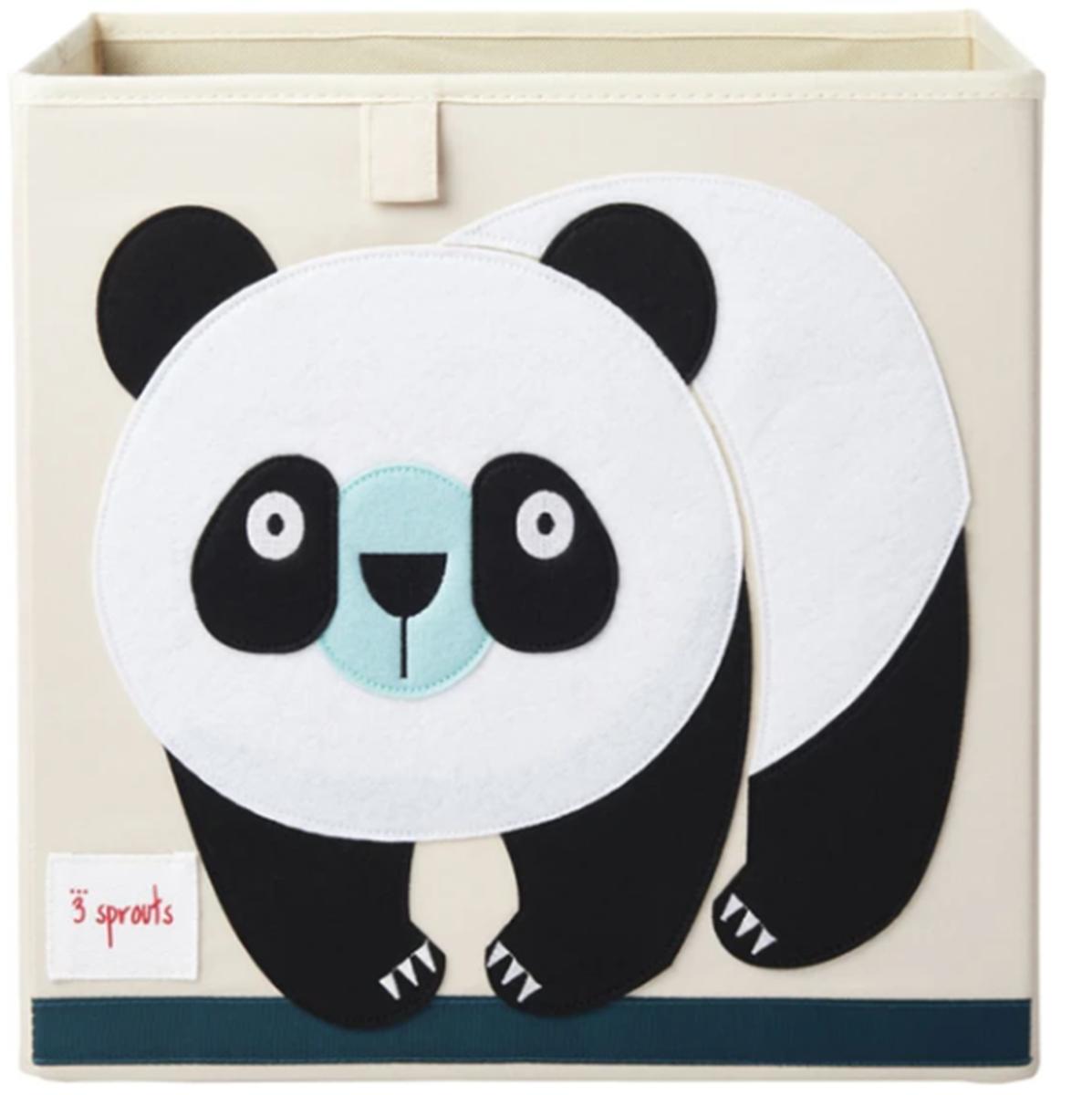 3 Sprouts Oppbevaringskasse, Panda