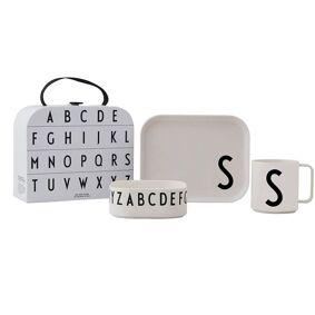 Design Letters Tritan Spisesett Gavepakke, S