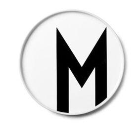 Design Letters Tallerken, M
