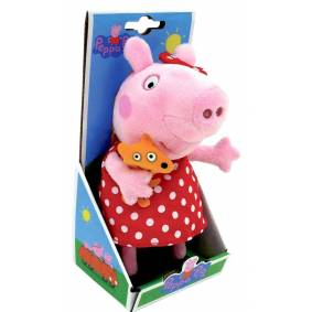 Peppa Pig Peppa Gris I Kjole, 20cm