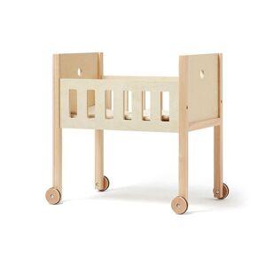 Kids Concept Dukkeseng med sengesett, Natur