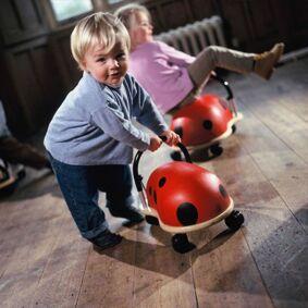 WheelyBug Wheely Bug Gåvogn, Marihøne