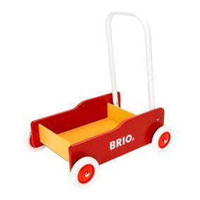 Brio Gåvogn rød/gul