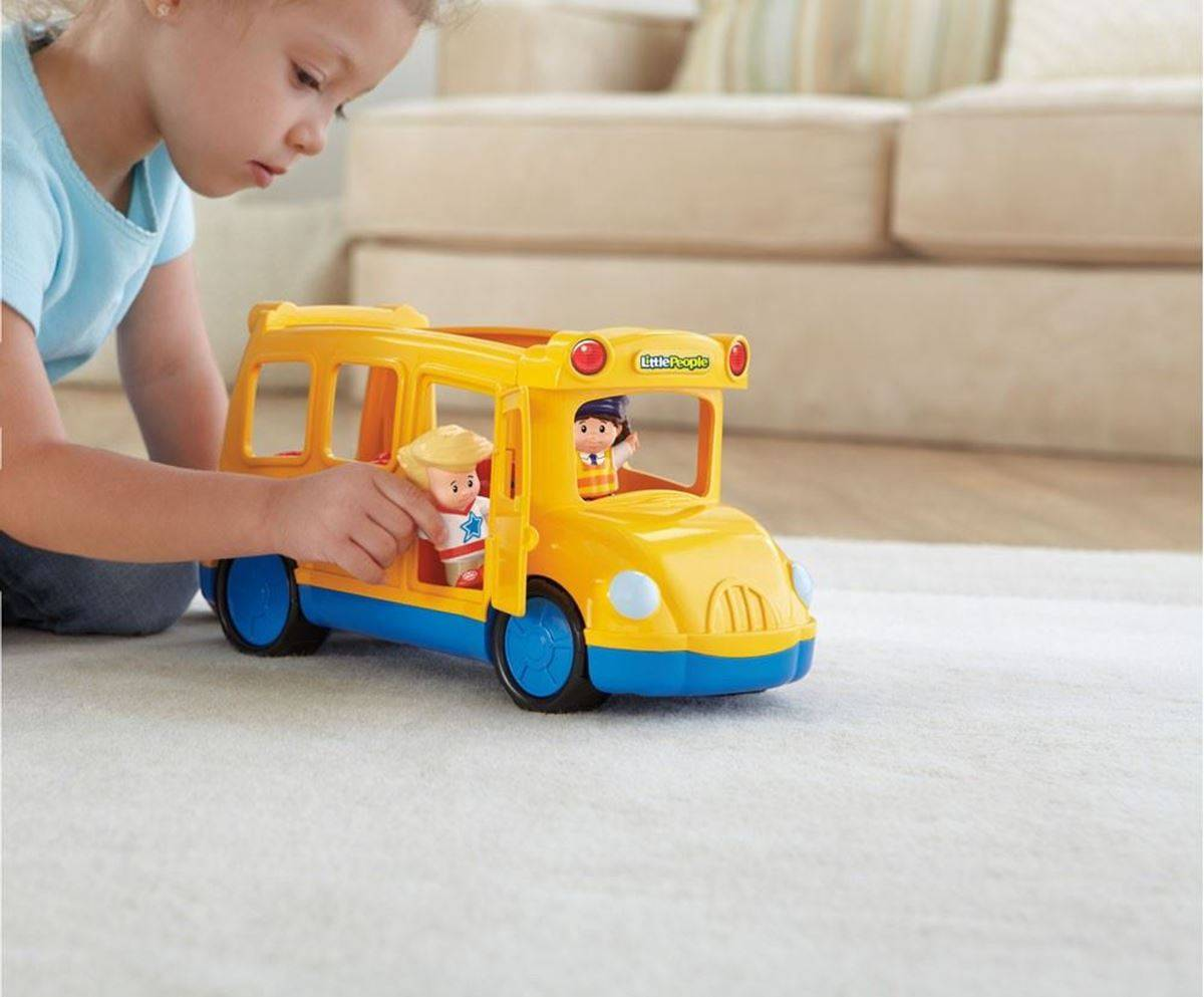 Fisher-Price People Skolebuss