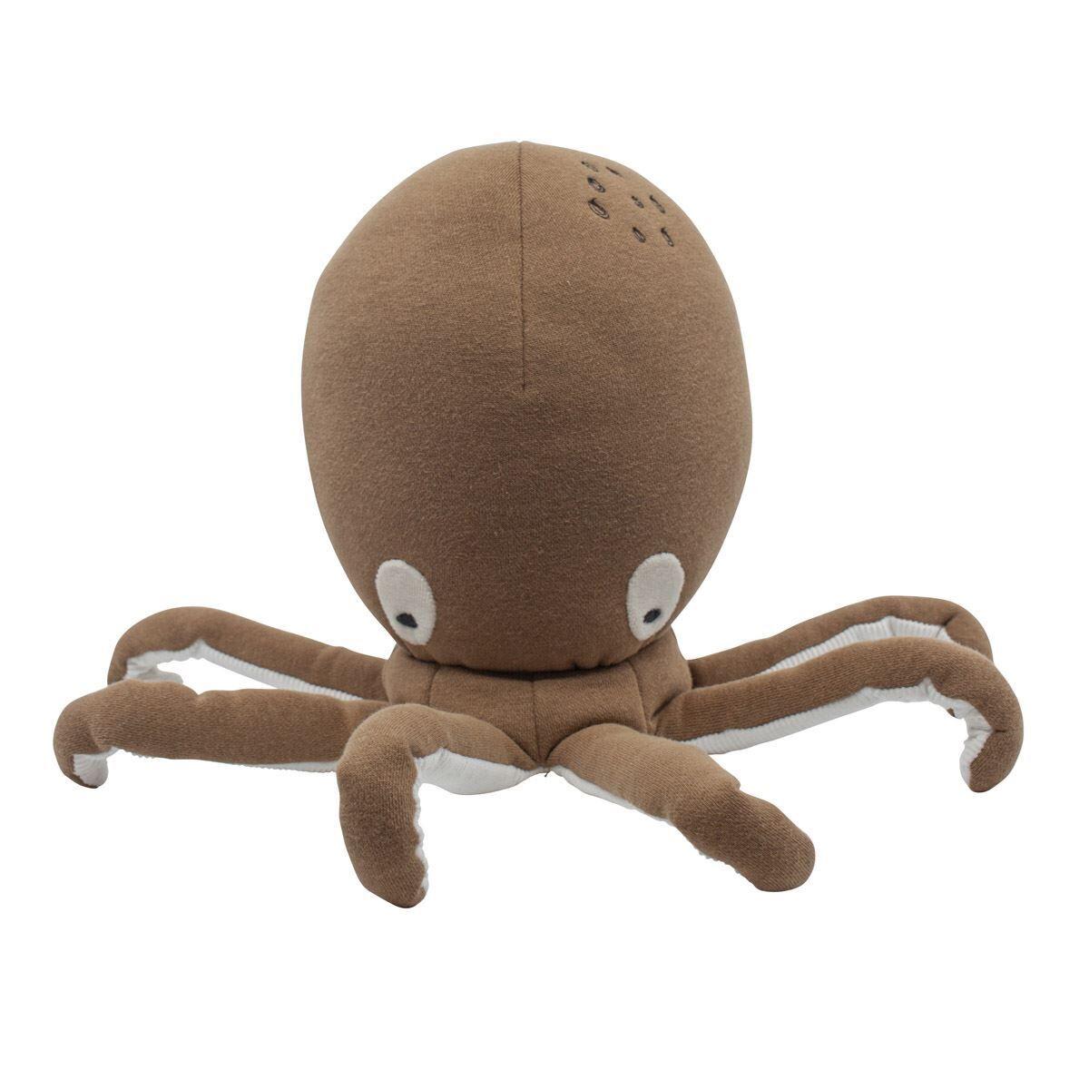 Sebra Kosedyr, Morgan the octopus, rusty brown
