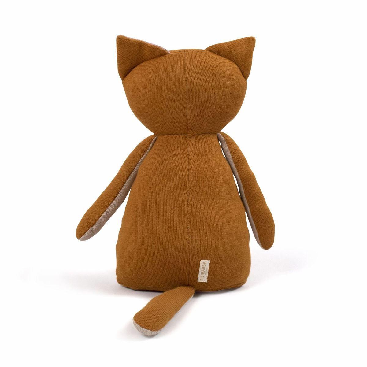 Filibabba Kosebamse - Freya the fox Dark orange
