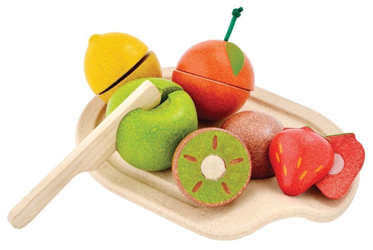 Plan Toys Blandede frukter, sett