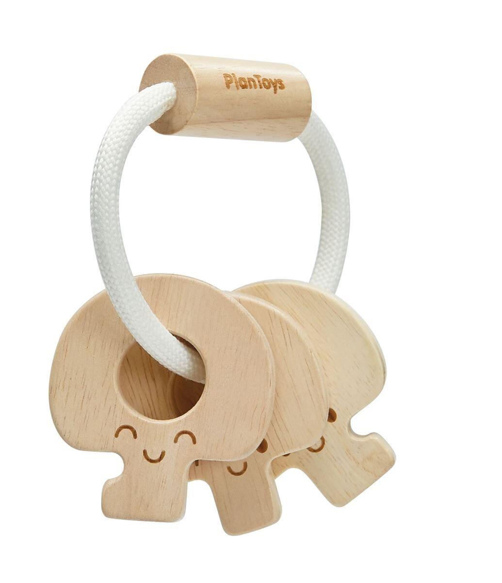 Plan Toys Natur Baby nøkkelrangle