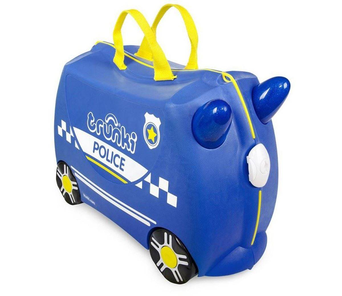 Trunki Barnekoffert, Ride-On, Percy Politibil