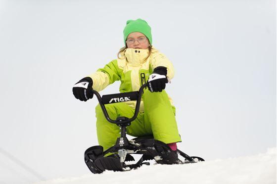 Stiga Snowracer SX Pro, Sort