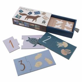 Sebra Puslespill, Counting puzzle 1-10, Seven Seas/Daydream