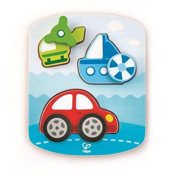 Hape Dynamic Vehicle Puzzle