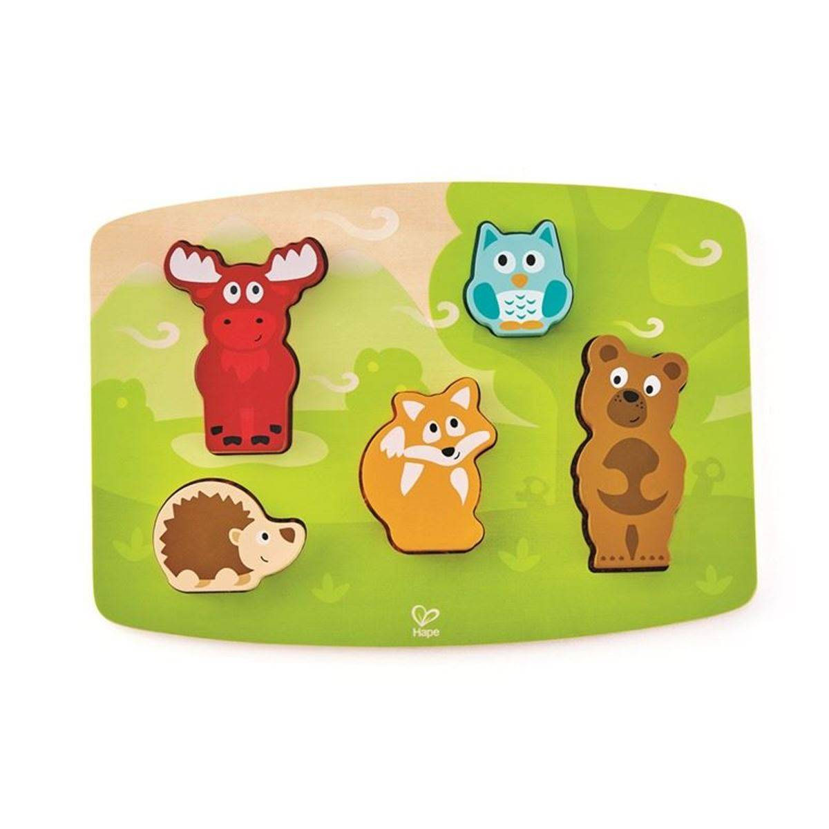 Hape Forest Animal Tactile Puzzle