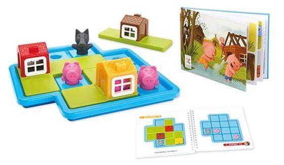Ravensburger Smart Games Three little piglets barnespill