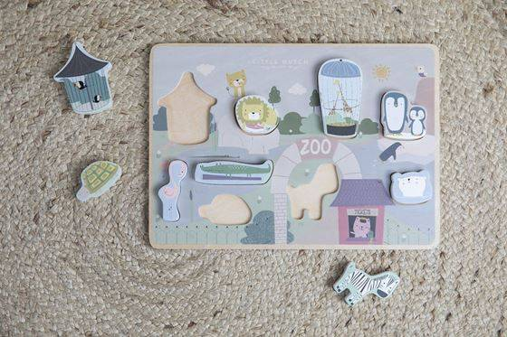 Little Dutch Puslespill, Animal Puzzle, Zoo
