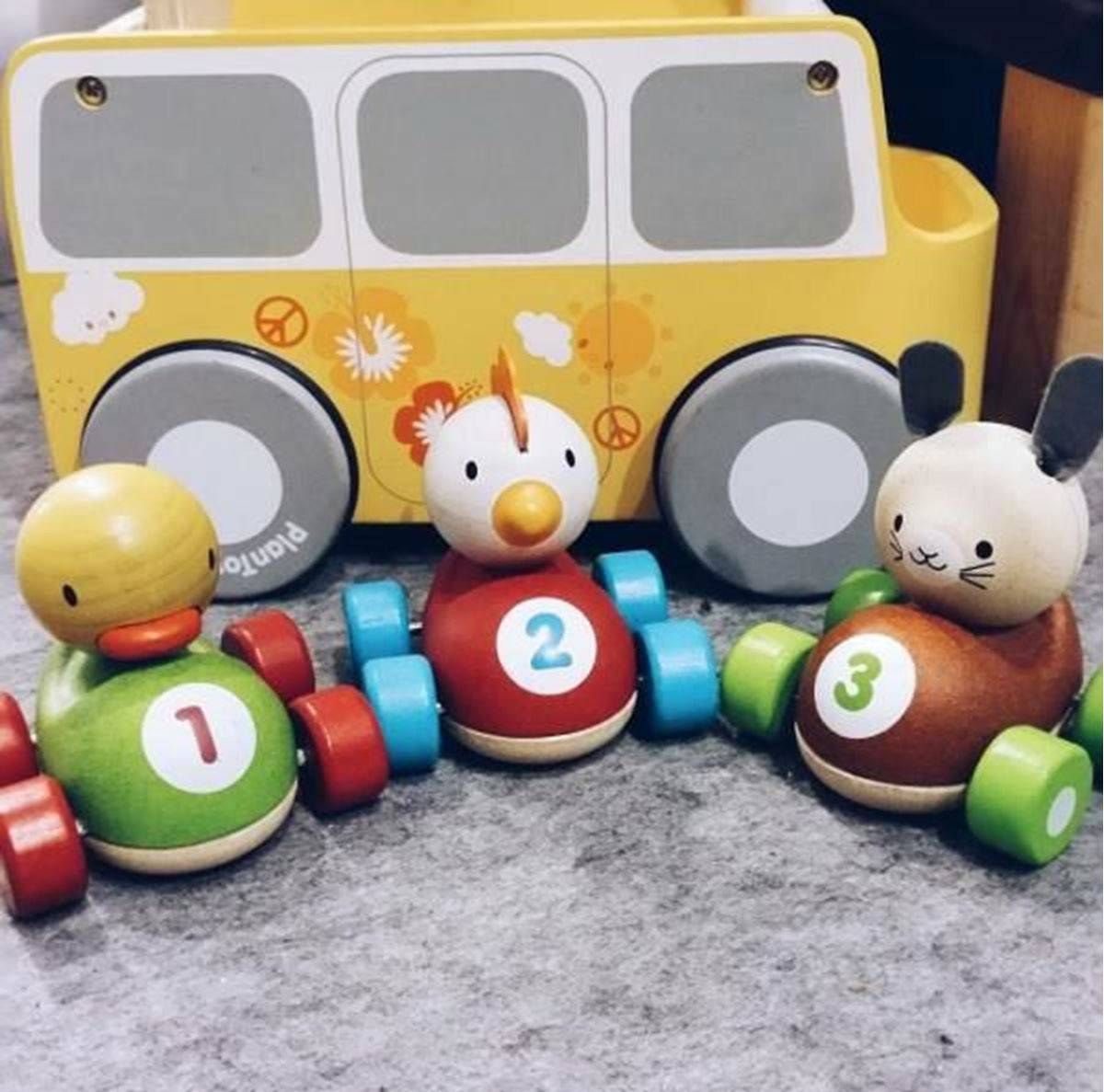 Plan Toys Racerbil - Høne