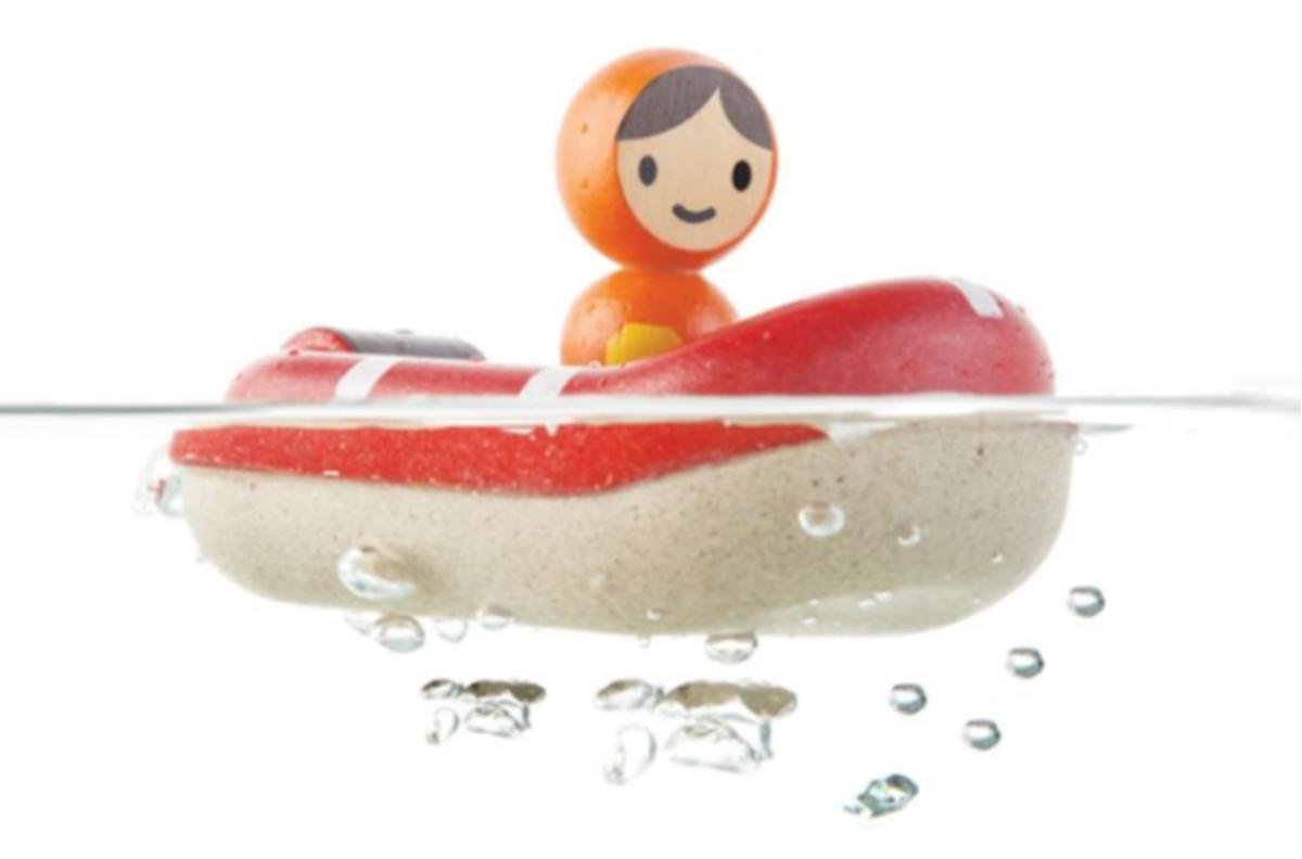 Plan Toys Redningsbåt