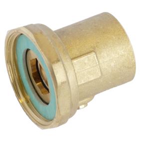 Unionsett med ventil for sirkulasjonspumpe