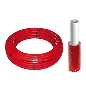 Alupexrør 16/20x2mm - 26/32x3 mm - Med isolering 20x2 mm - 50 meter kveil