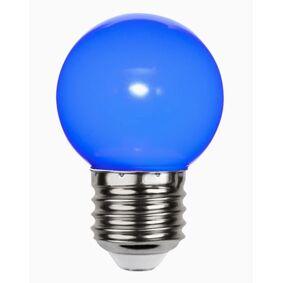 Star Trading Decoration LED Kronepære Blå 1W E27
