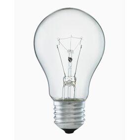 Lysman Normalformet glødepære klar glass E27 40W