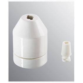 Ifö Ifö Electric KLACK pendel hvit, uten kabel. IP20, E27 med avlaster