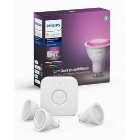 Philips Hue GU10 White COLOR Ambiance - Starter Kit