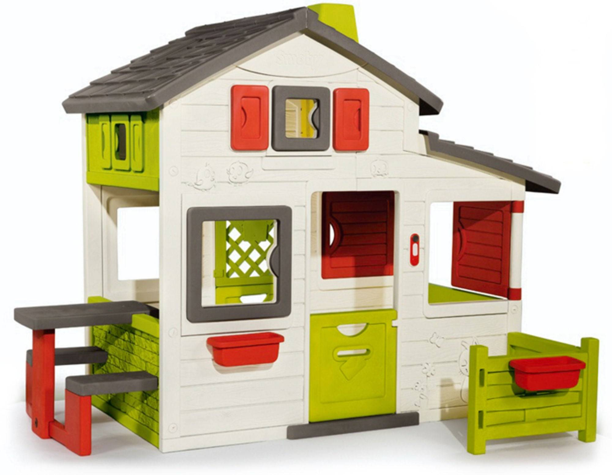 Smoby Lekehytte Friends House