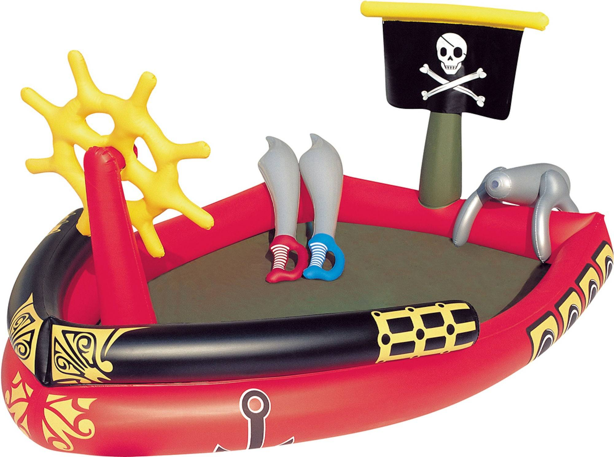 Bestway Oppblåsbar Pool Pirat