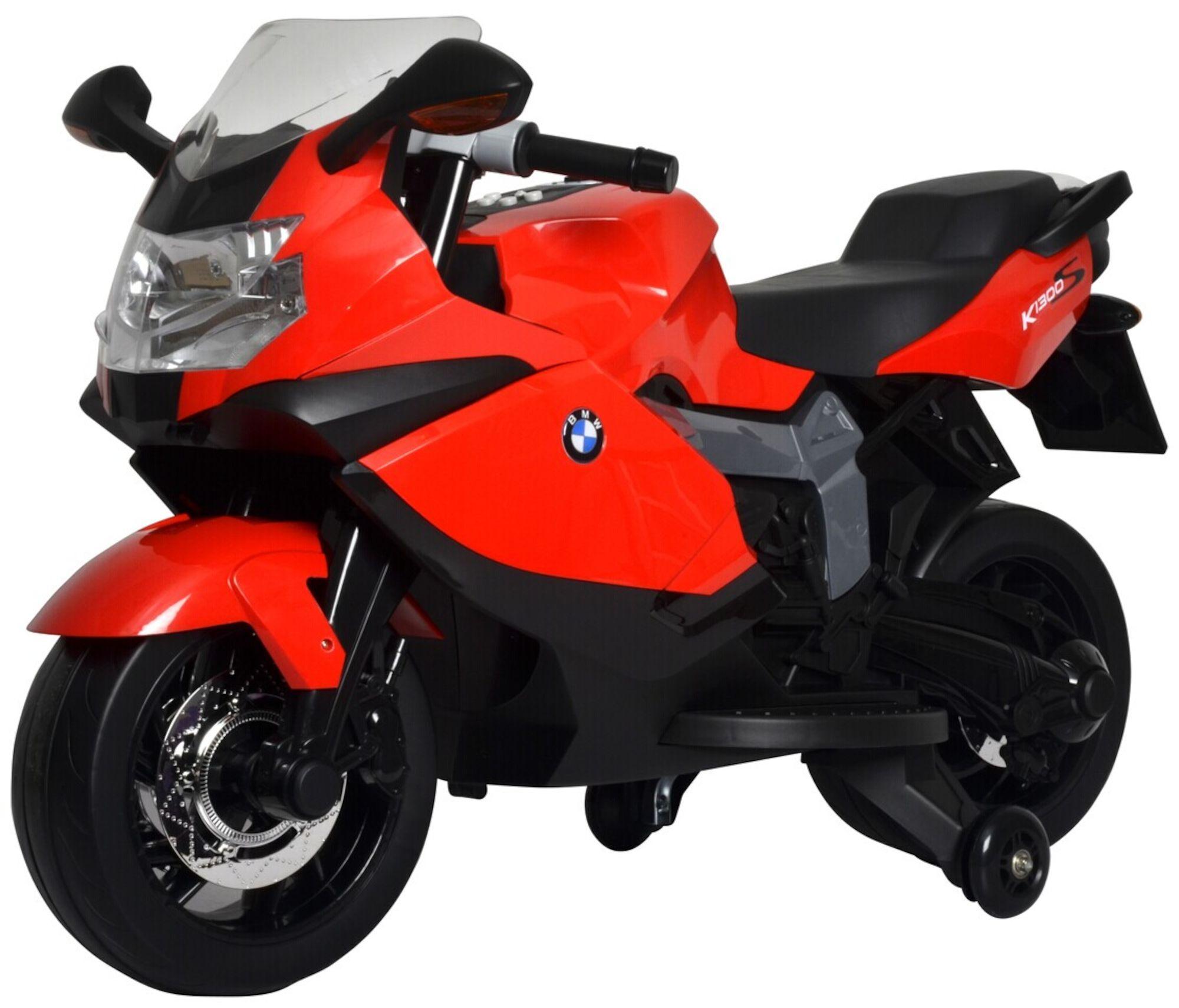 BMW Elmotorsykkel, Rød