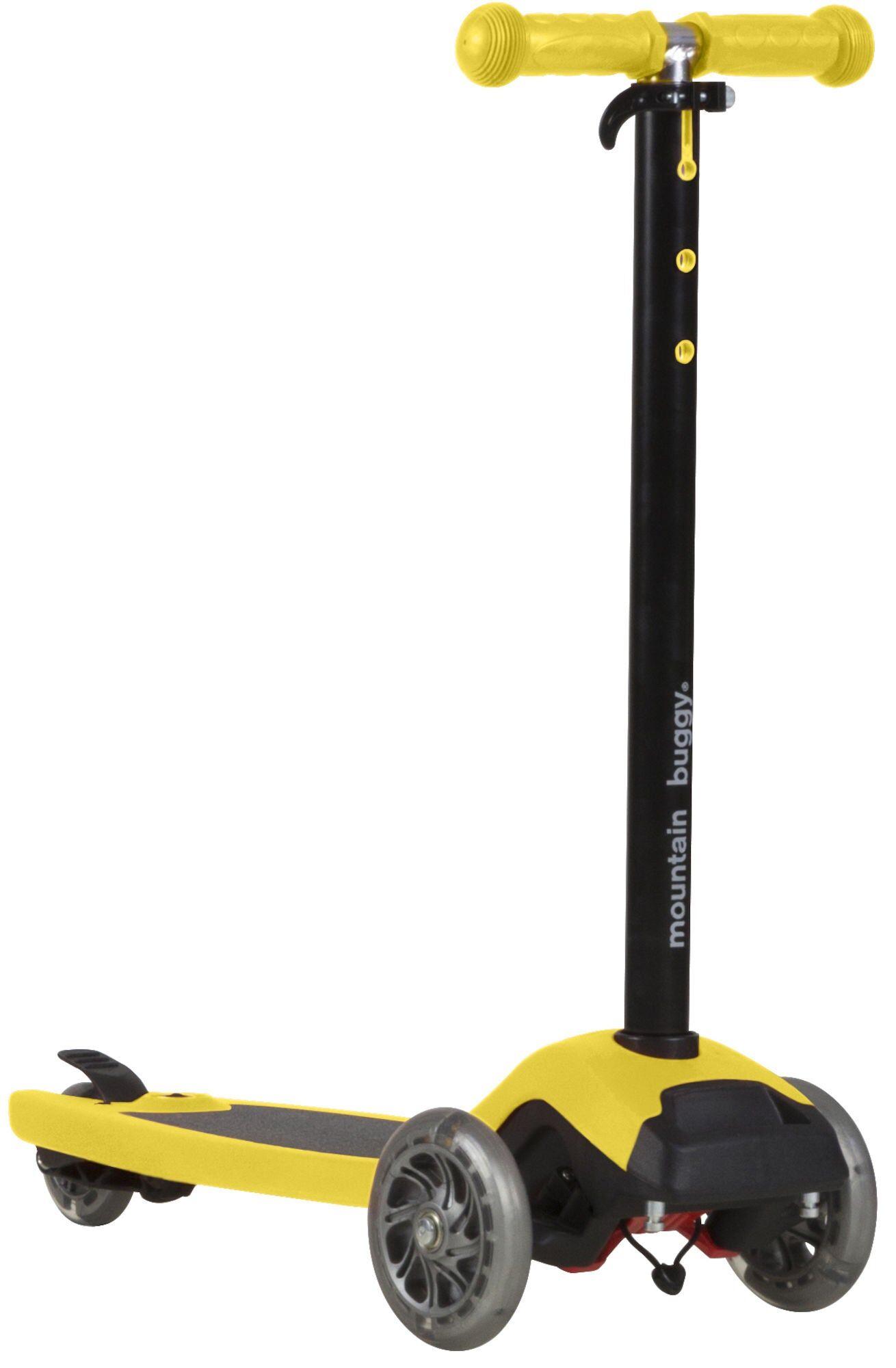 Mountain Buggy Freerider Ståbrett/Sparkesykkel, Yellow