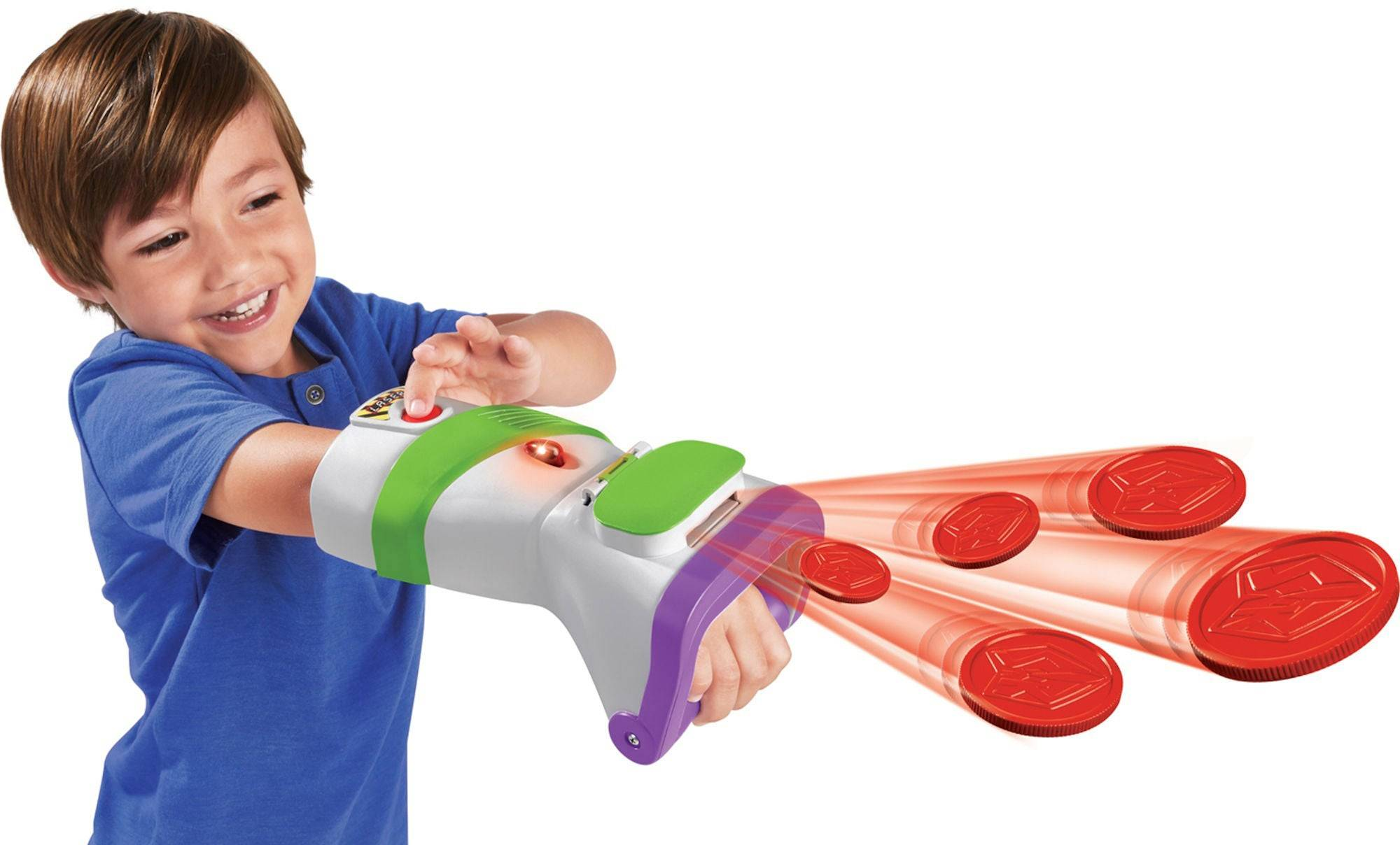 Toy Story Disney Pixar Toy Story Figur Buzz Lightyear Rapid Disc Blaster