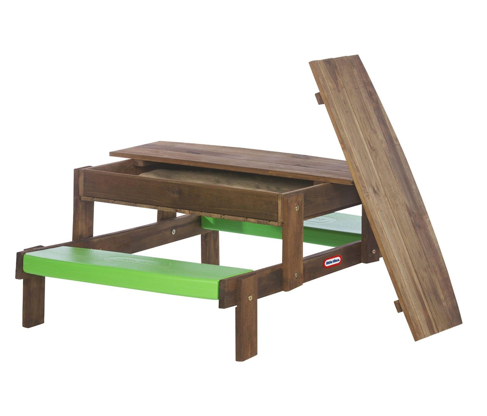 Little Tikes Sandkasse og Piknikbord av Tre