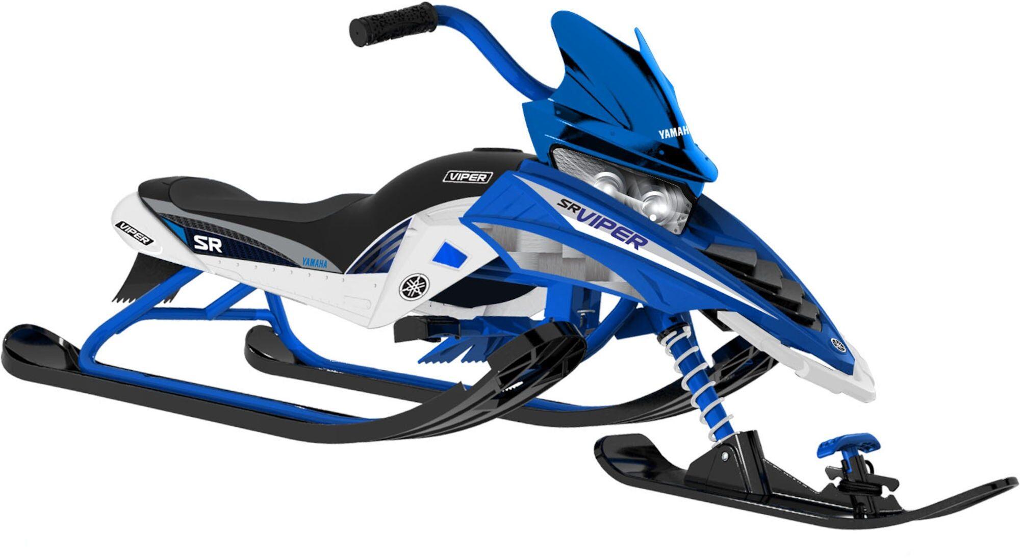Yamaha Snow Trike, Blå