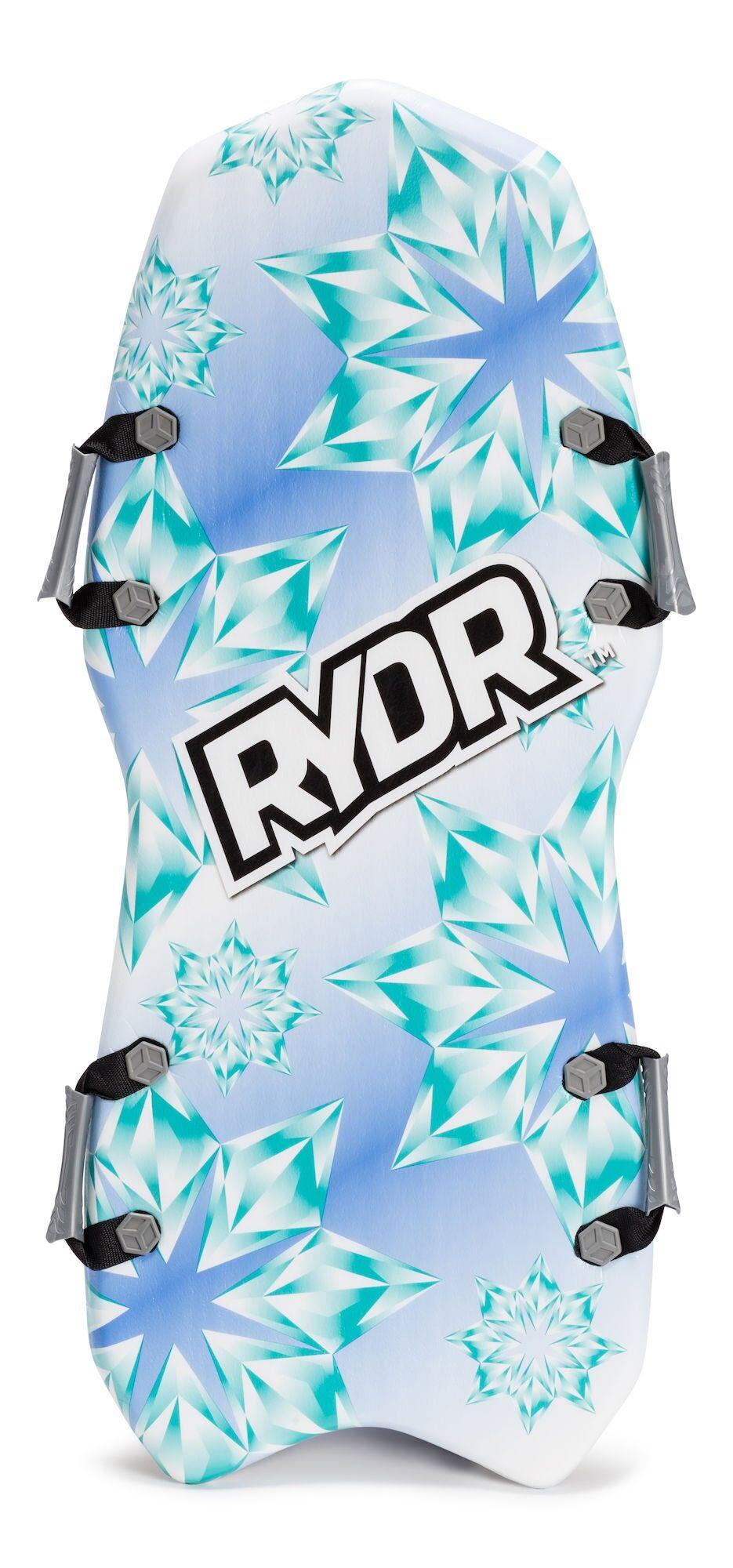 RYDR Snøbrett Med Håndtak, Snow Flake