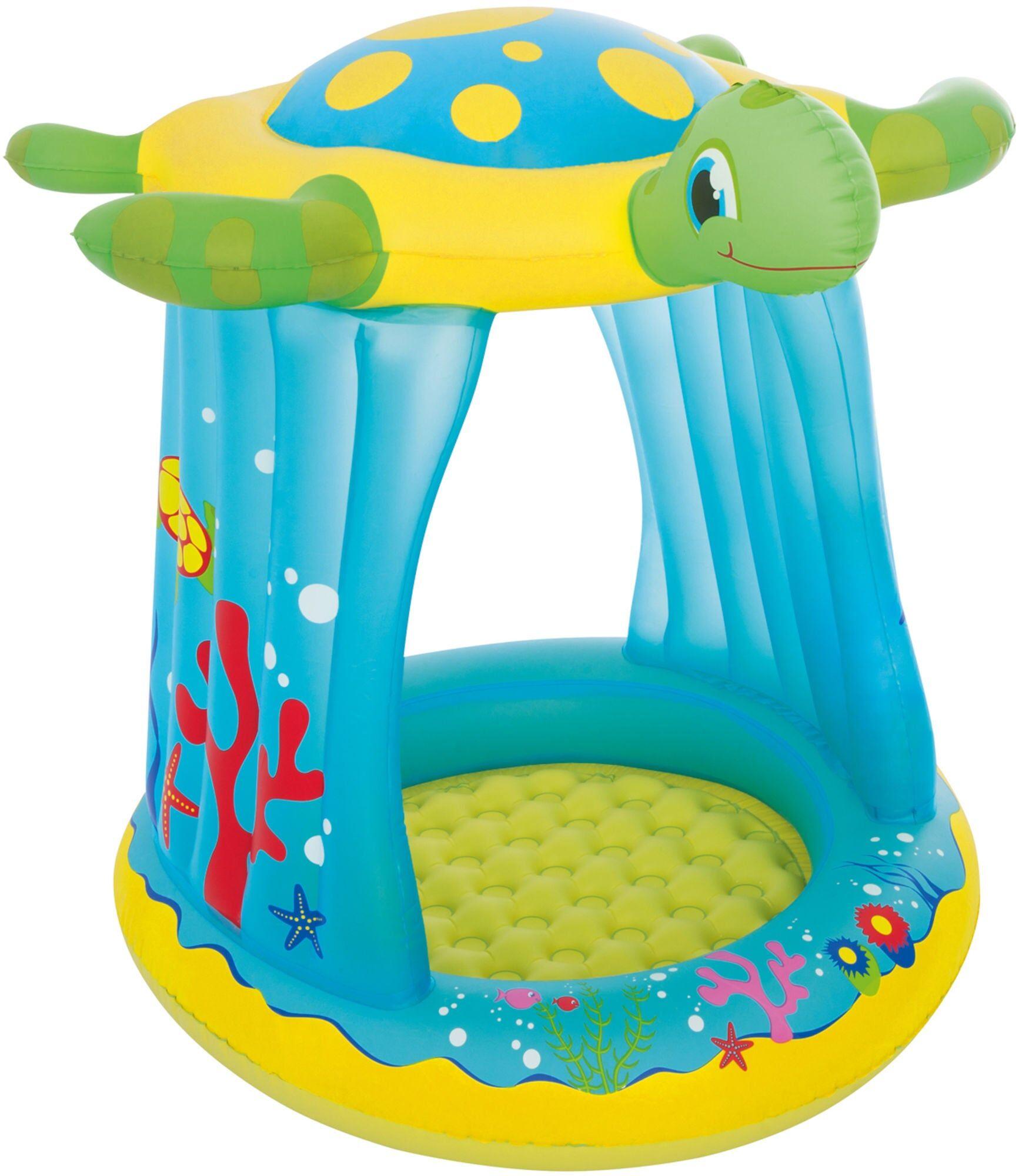 Bestway Bestwaa Turtle Totz Play Pool Babybasseng
