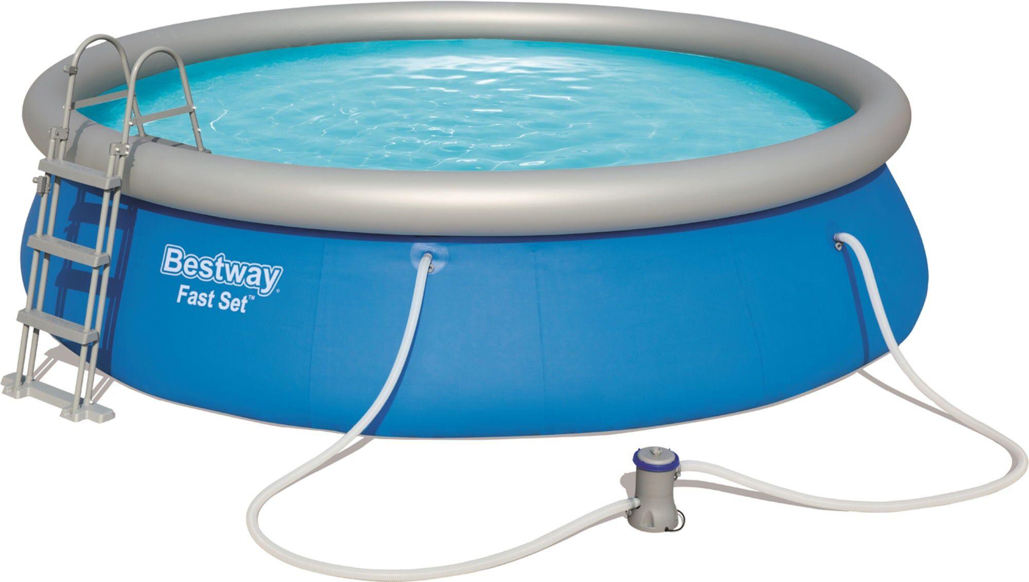 Bestway Fast Set Pool  med Tilbehør Ø457