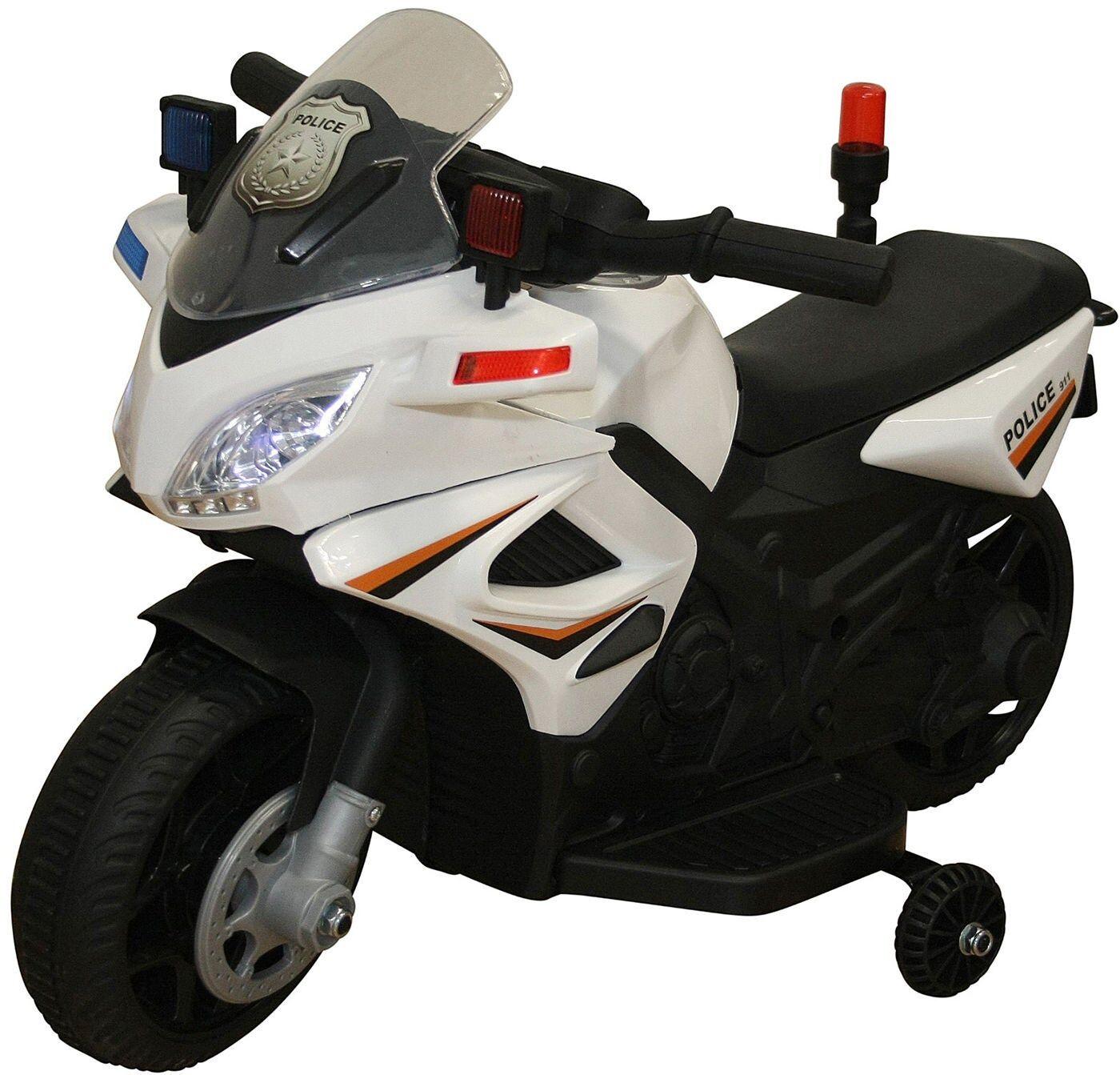 Azeno Elmotorsykkel Politi