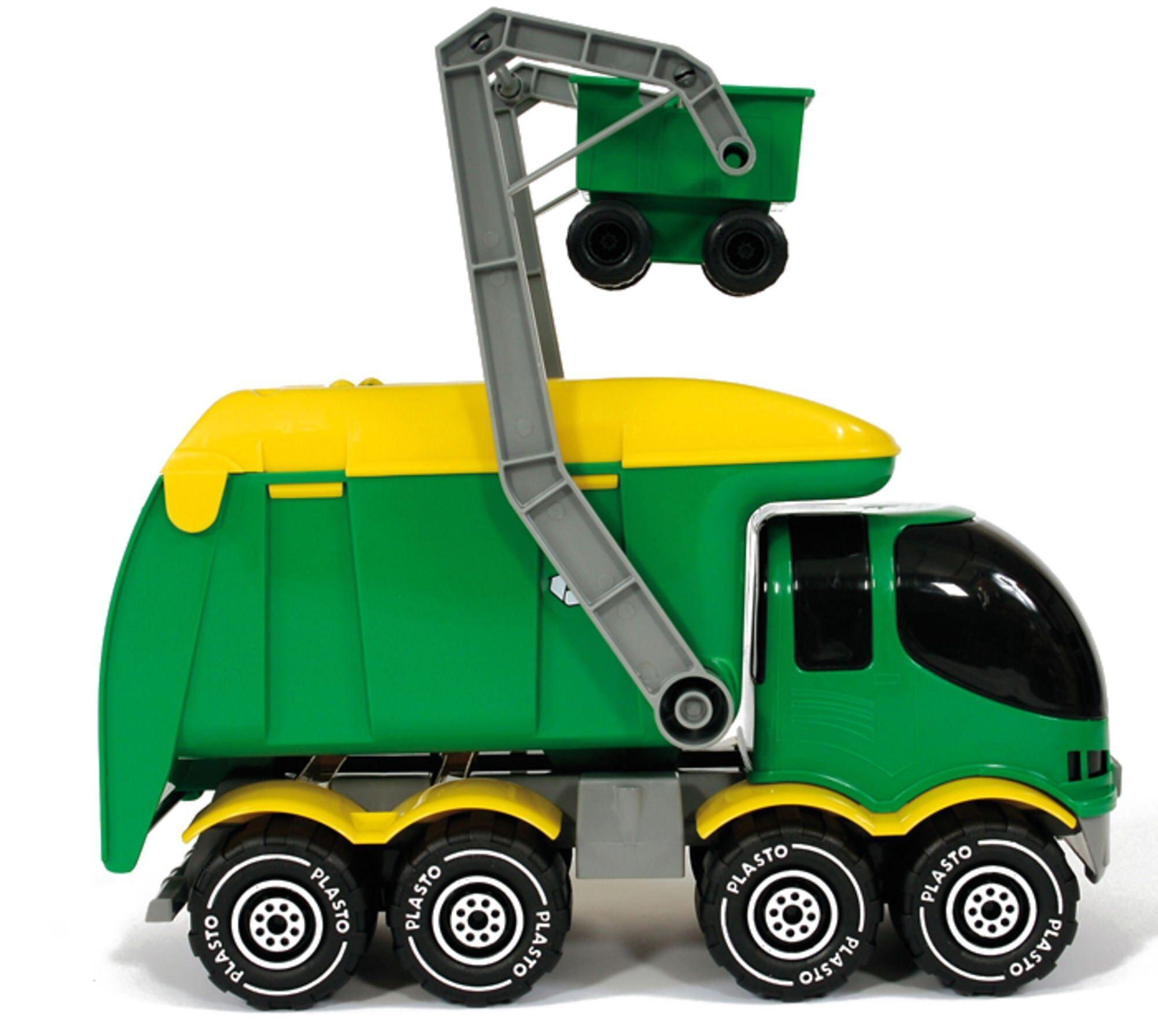 Plasto Søppelbil Grønn
