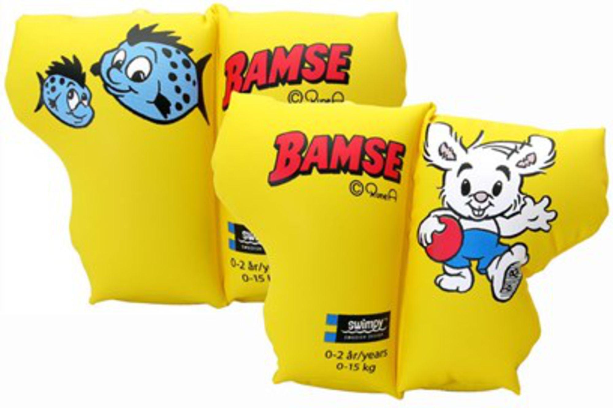 Swimpy Armringer Bamse- Verdens Sterkeste Bjørn 0-2