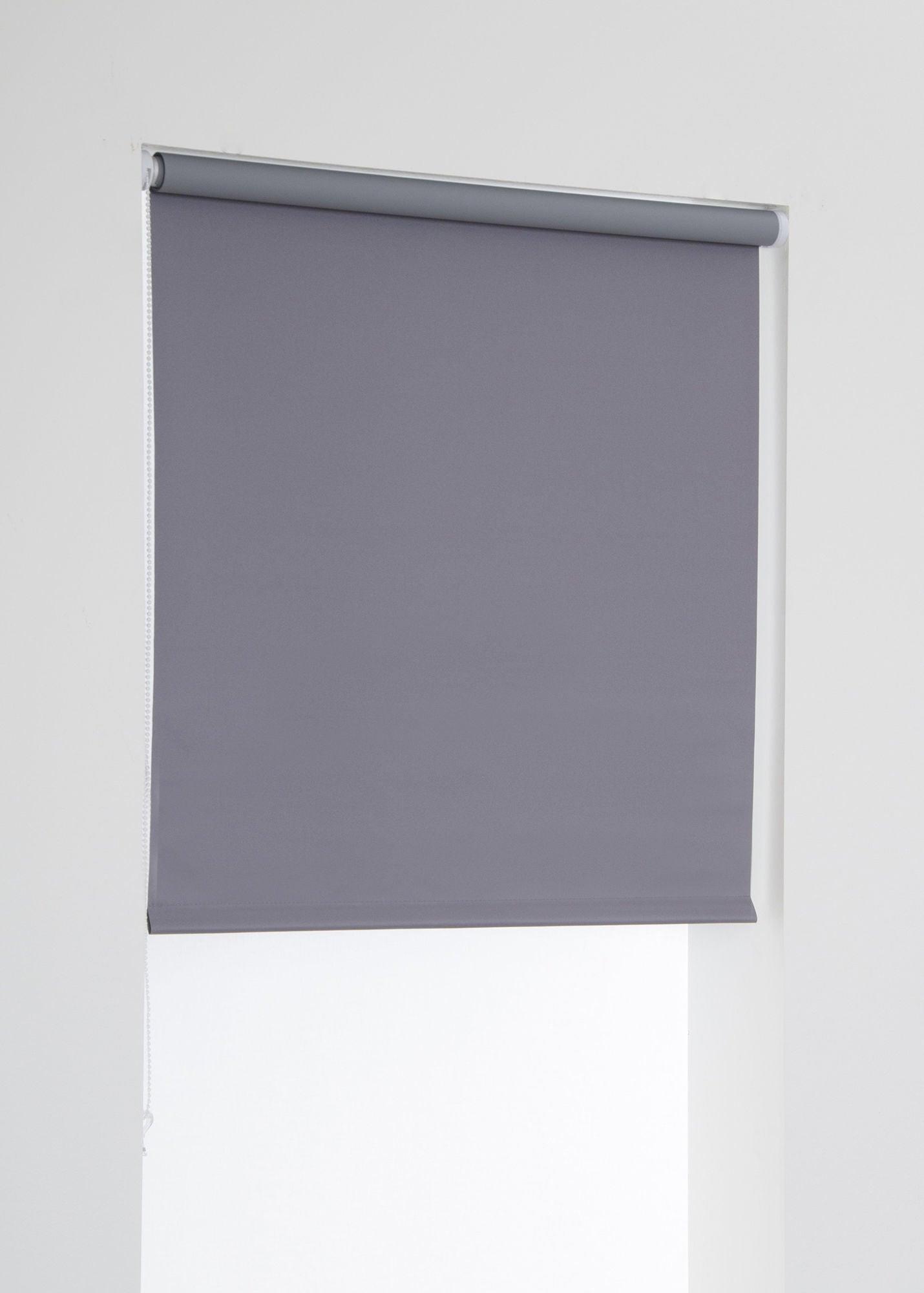 Hasta Blackout Rullgardin, Grey 100x185