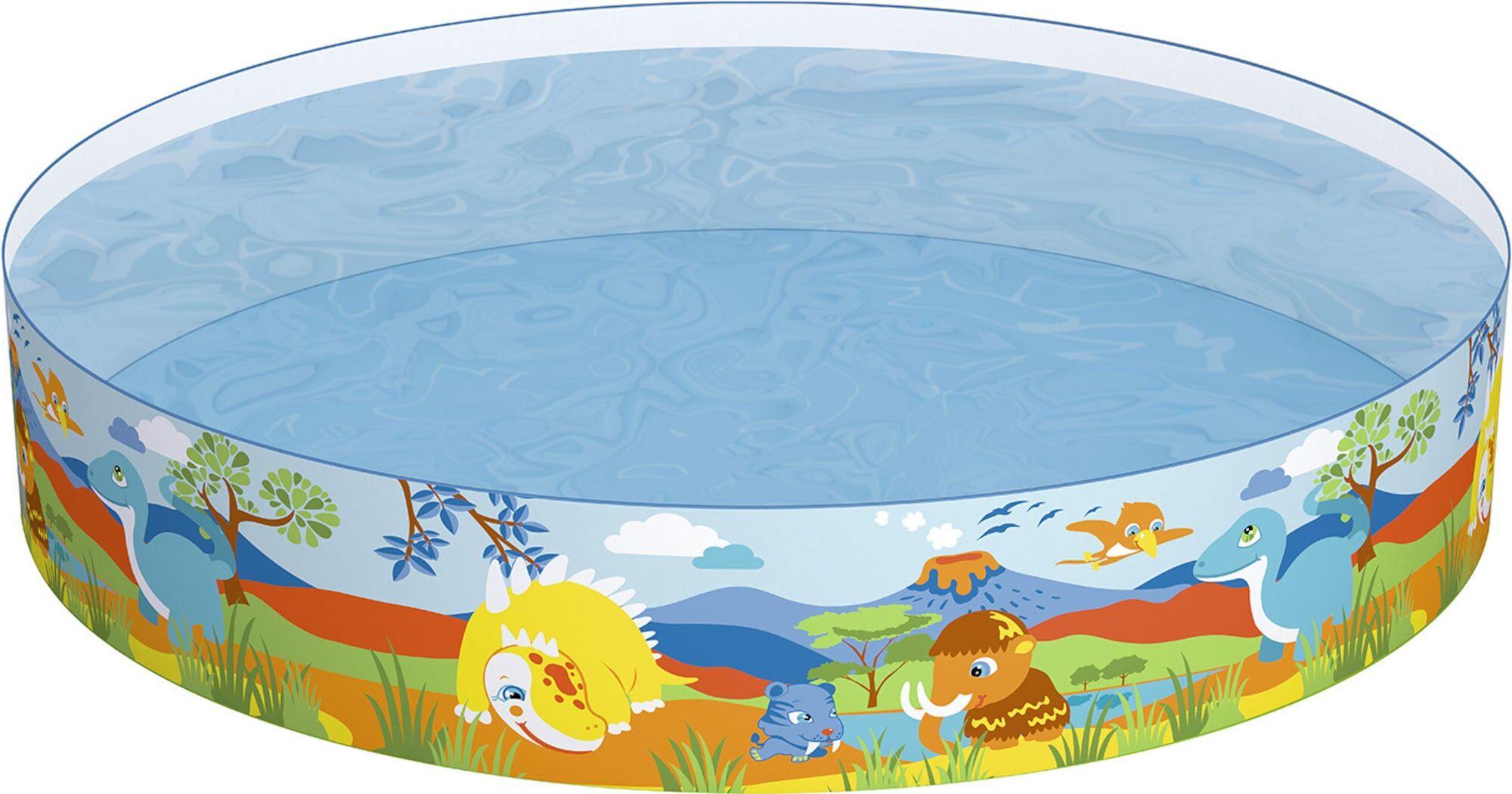 Bestway Pool Fill 'N Fun Dinosaurier Ø183