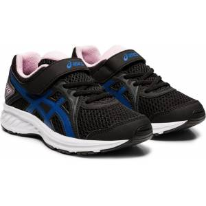 Asics Jolt 2 PS Sneaker, Black/Tuna Blue, 32,5