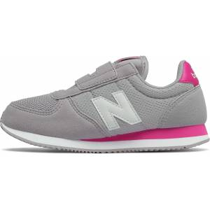 New Balance KV220C4Y Joggesko, Grey/Pink 31