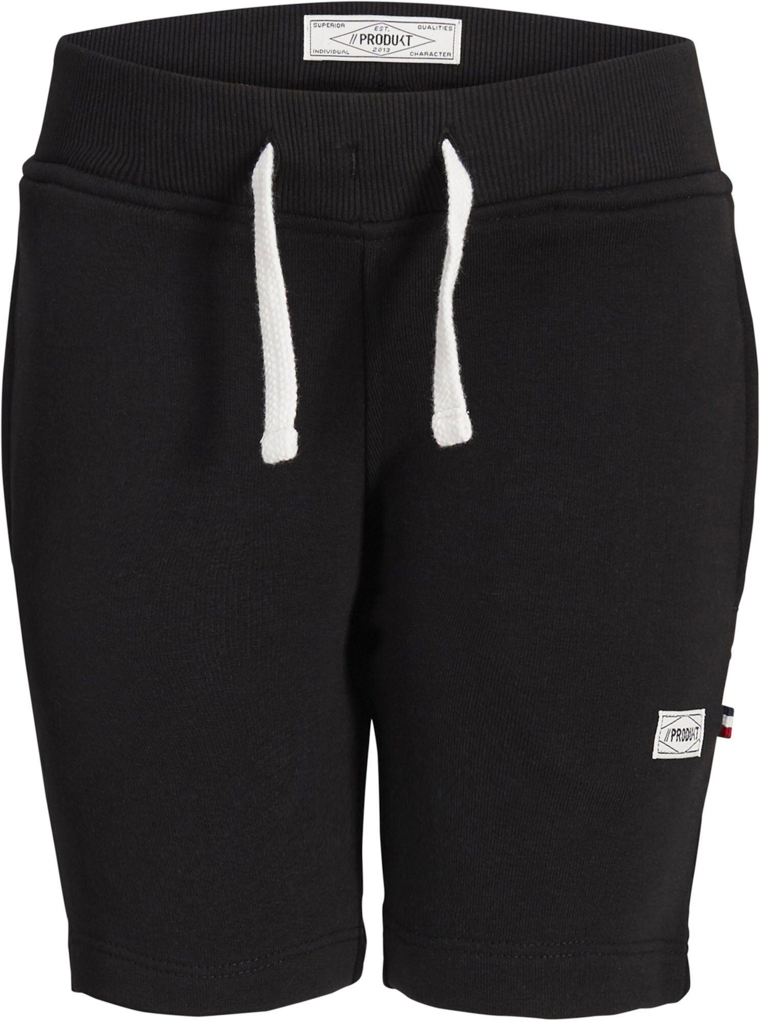 PRODUKT Basic Shorts, Black 158