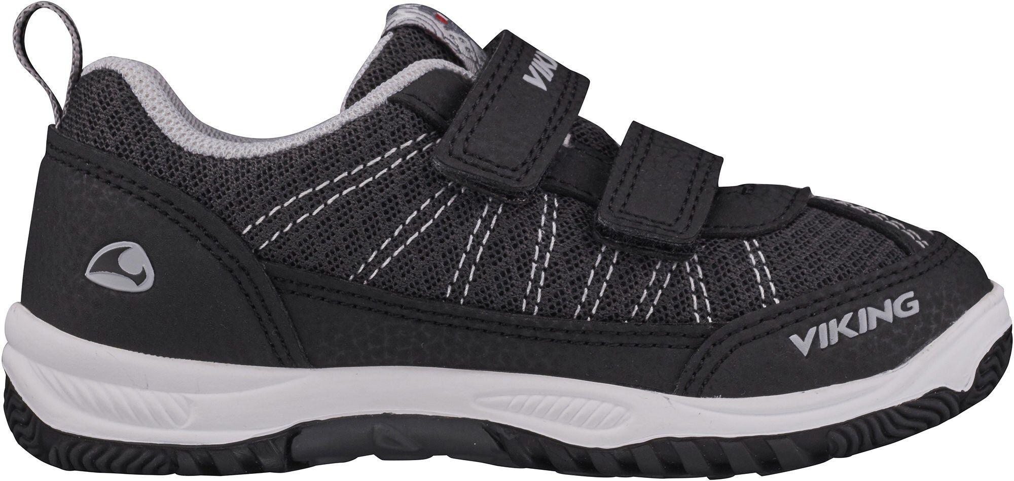 Viking Bryne Sneaker, Black/Grey 22