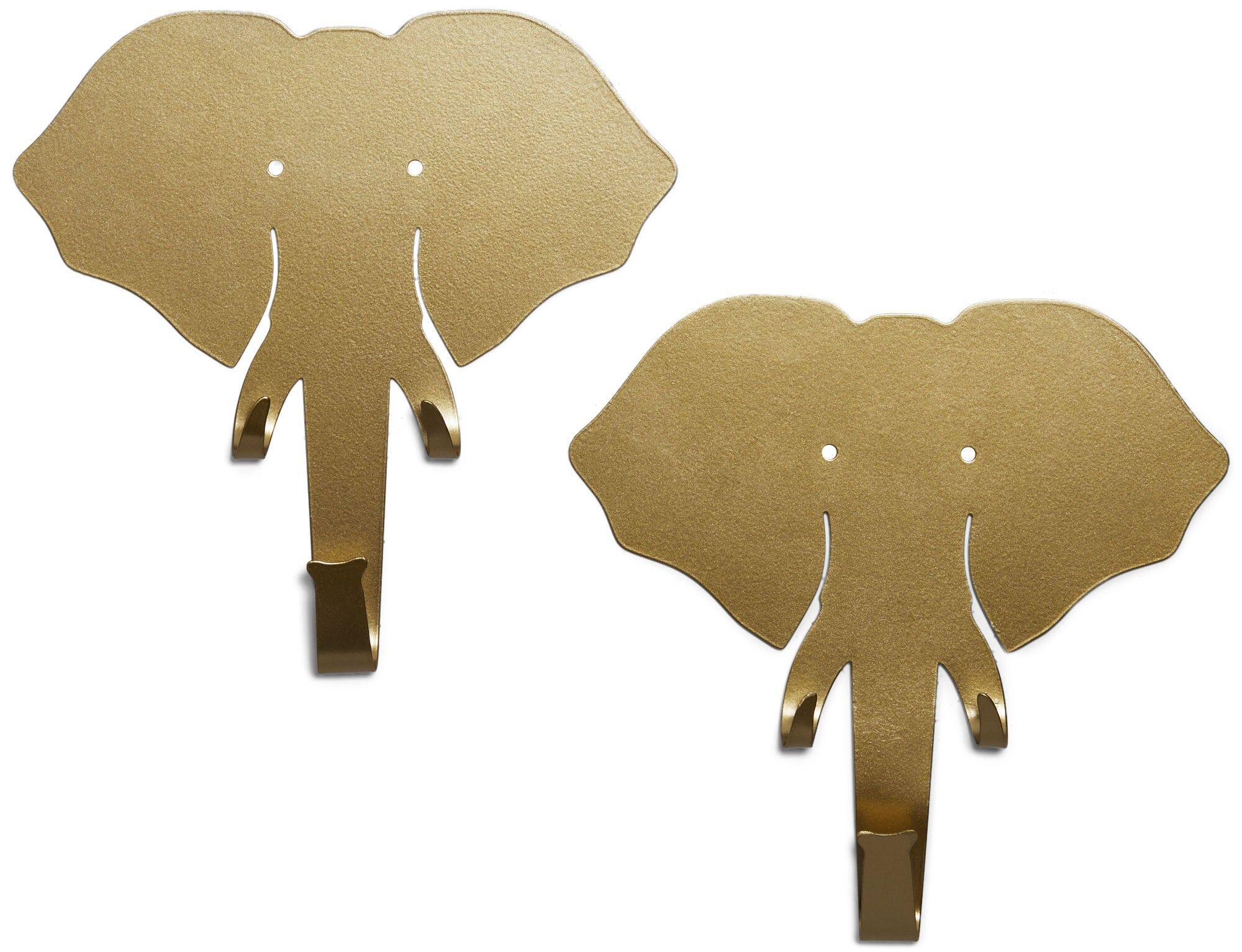 Petite Déco Krok Elefant 2-pack, Messing