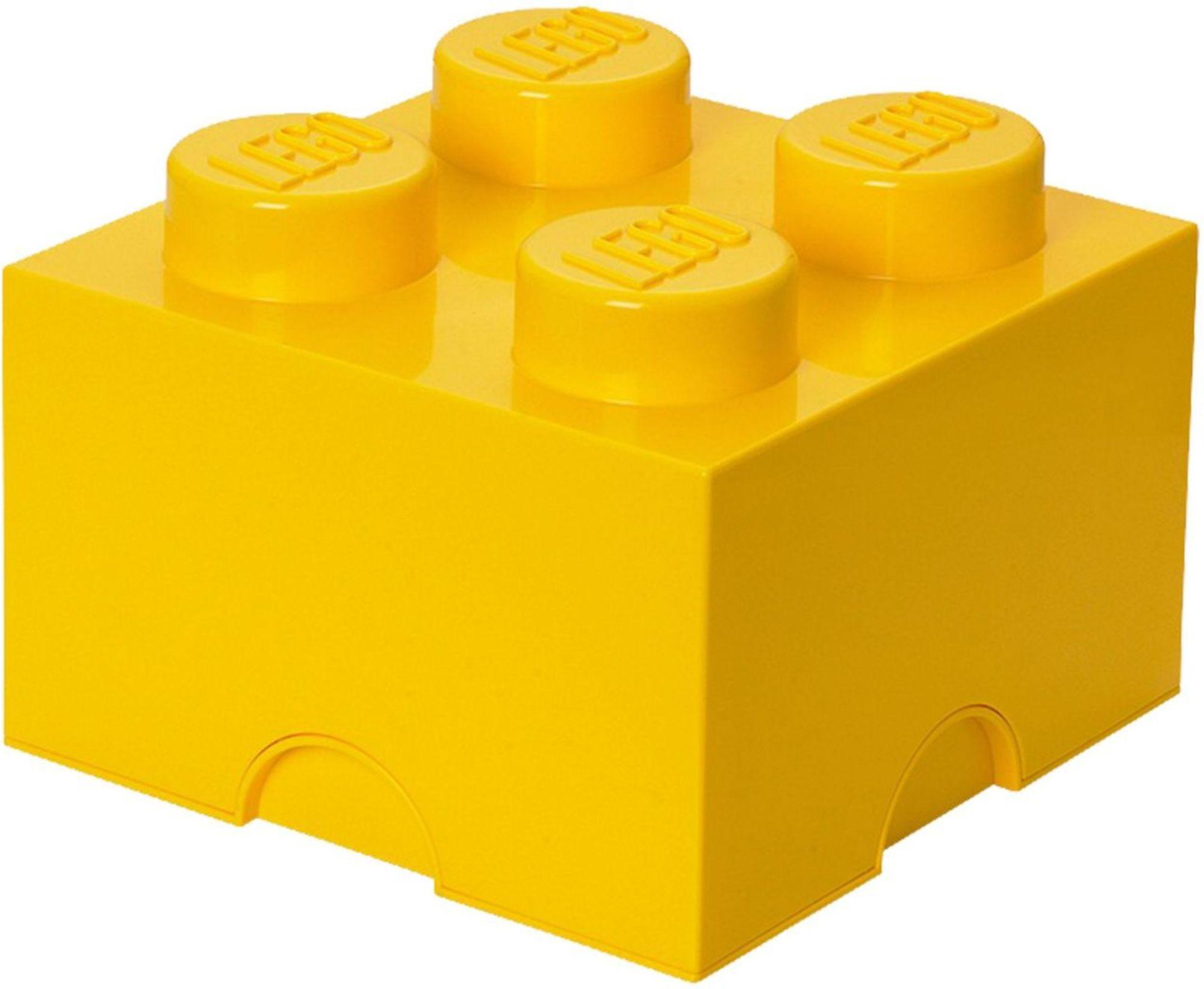 Lego Oppbevaring 4 Gul